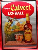 Framed Calvert Lo-Ball Hunting Cardboard