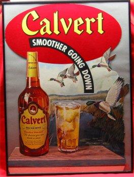 Framed Calvert Reserve Hunting Cardboard