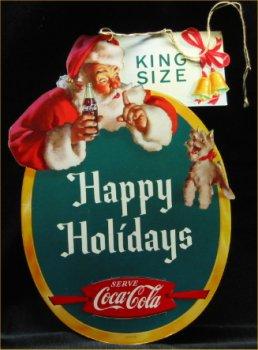 1959 Coca Cola Santa