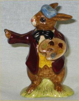 1975 Royal Doulton Bunnykins DB 13 - The Artist