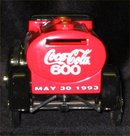 Coca Cola 600 Model A Tanker Truck Bank - 1993