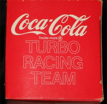 Coca Cola 1/64 Scale NASCAR Turbo Racing Team