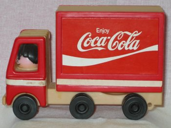 1980s Coca Cola Delivery Truck by Stratco