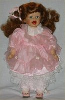 Moments Treasured Ltd Ed Porcelain Doll -