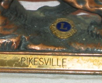 Lions Club Intl Paperweight - Pikesville, MD