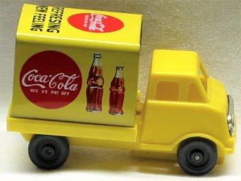 Coca Cola Friction Truck - Error Version