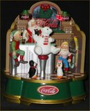 Coca-Cola Musical Santa's Soda Fountain - 1994