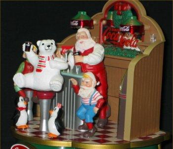Coca-Cola Musical Santa's Soda Fountain - 1994