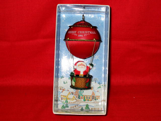 Hallmark Sailing Santa Ornament - 1981