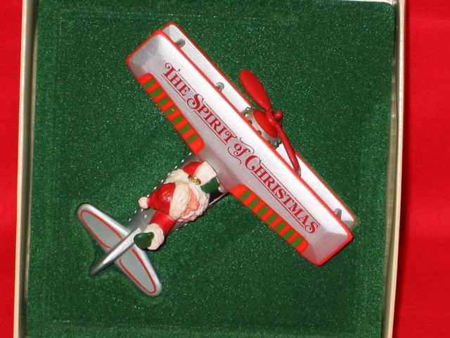 Hallmark  The Spirit of Christmas Ornament - 1982