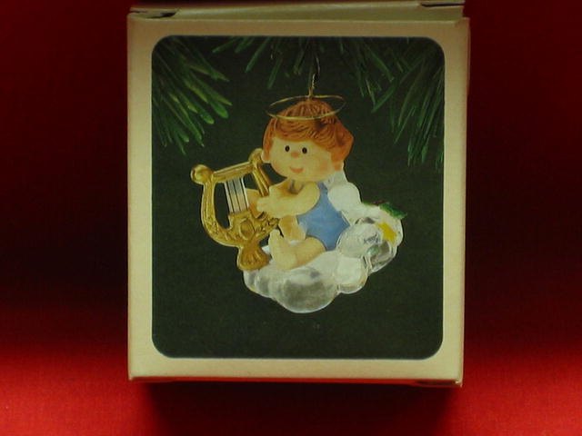 Hallmark Musical Angel Ornament - 1982
