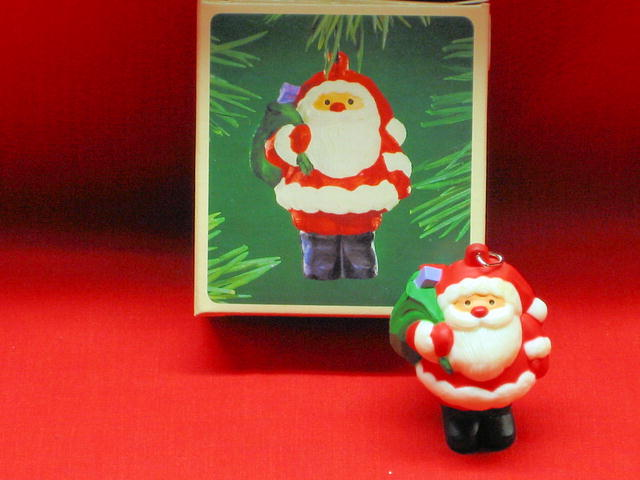 Hallmark Jolly Santa Ornament - 1983