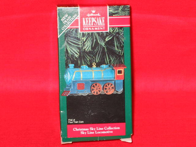 Hallmark Sky Line Locomotive Ornament - 1992