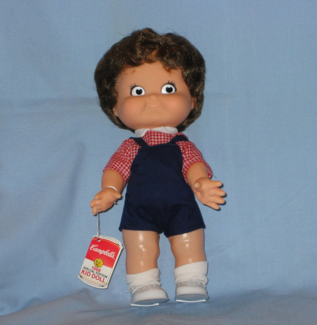 1988 Campbell Kid Boy Doll