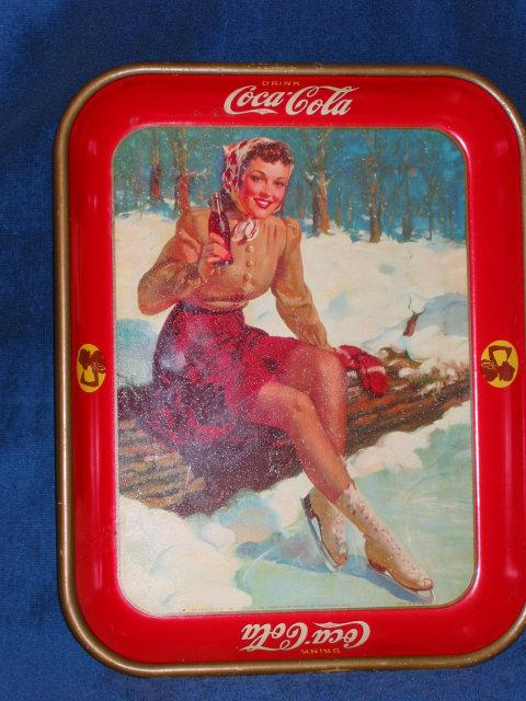1941 Coca Cola Tray - The Skater