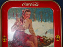 1941 Coca Cola Tray - The Skater