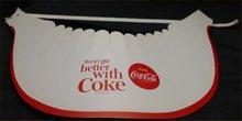 1960s Coca Cola Cardboard Visor