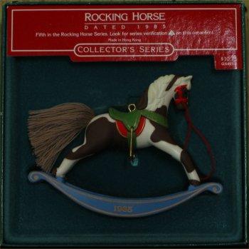 1985 Hallmark Rocking Horse #5 Ornament