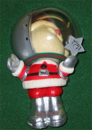 1981 Hallmark Space Santa Ornament