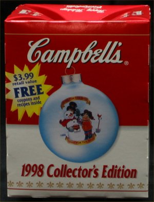 1998 Campbell Kid Ornament