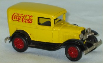 Coca Cola Ford Model A by Nostolgic Miniatures