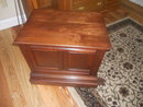 Antique Cherry Spool Cabinet/Table/Countertop