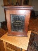 Antique Oak Clock Case/ Medicine Cabinet