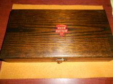 Keen Kutter Flatware Set in Oak Box