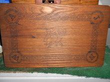 Childs Game Board in Oak