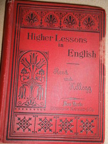 Book - Higher Lessons in English c. 1890