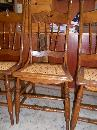 Set of 6 Oak Kitchen/Dining Room Chairs