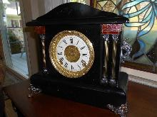 Sessions Arch Top Mantle Clock - Enormous - Complete Restoration