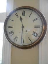 Antique Seth Thomas Gallery Clock Complete Mechanical Restoration