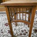Arts & Crafts Mission Oak Plant Stand or Telephone Table