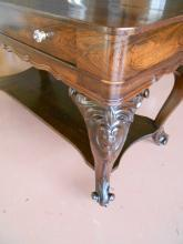 Antique Melodeon Library Table - Rosewood - 1860