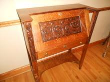Antique Mission Arts & Crafts Secretary Desk Very Rare Design
