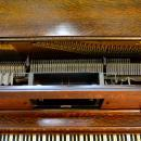 15537 Antique Victorian Oak Player Piano by Aeolian Company