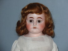 Heubach #1901 bisque and leather doll