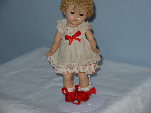 Ginny Doll, 1952, Tiny Miss Poodle cut,  PL