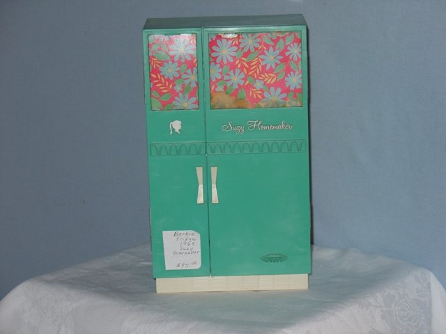Barbie, Susy Goose Turquoise Refrigerator