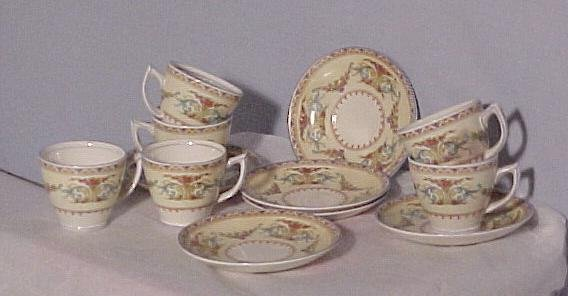 Staffordshire Demitasse Set or Childrens China