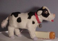 Battery Toy, Walking Bull, 1950's