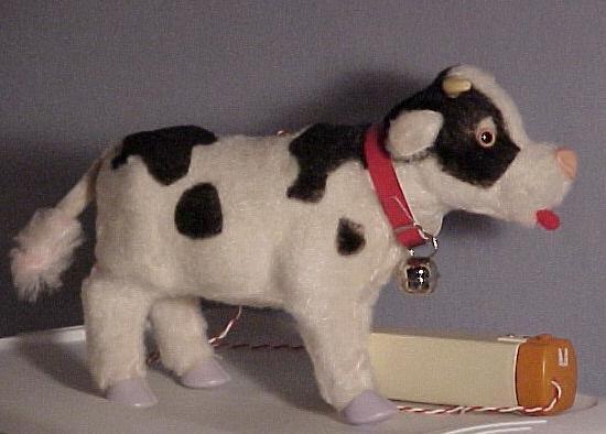Battery Toy, Walking Bull, 1950's