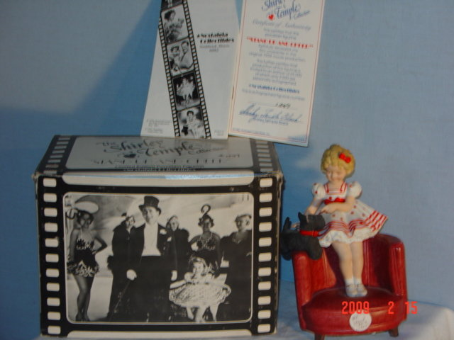 Shirley Temple, Stand Up & Cheer Figurine, in