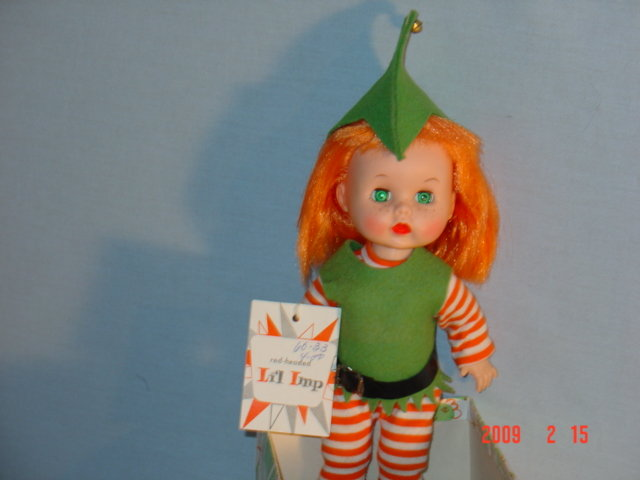 Lil Imp with tag in original box