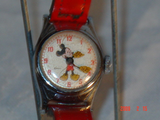 Mickey Mouse Watch, 1950's