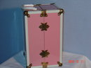 Ginny Pink Metal Trunk EX 1950's