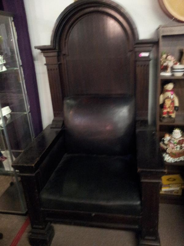 Gothic Style Throne Chair