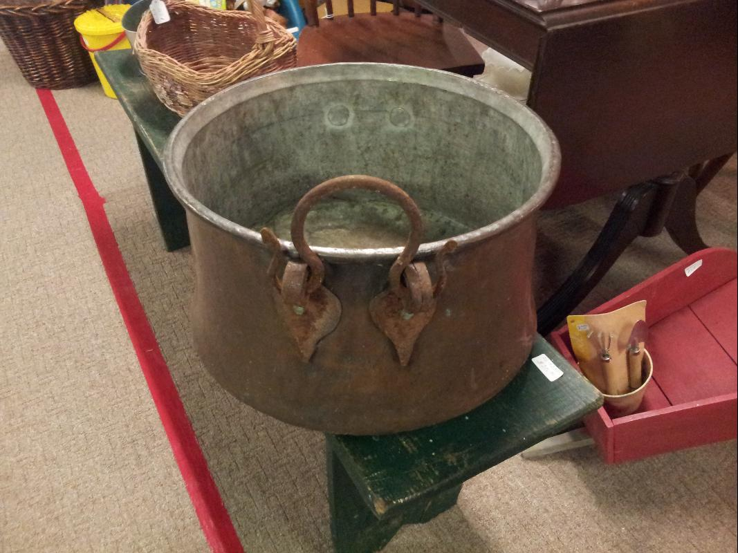 Hand Forged Apple Butter Cauldron