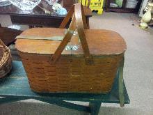 Vintage Picnic basket w/ Ice cooler